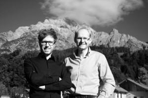 Porträt Stephan Obenaus und Johann Madreiter