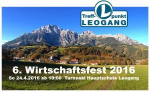 Foto Wirtschaftsfest Treffpunkt Leogang 2016